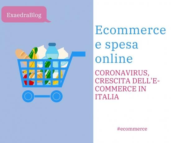 Coronavirus e spesa online