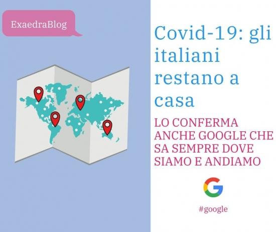 Lockdown Italia Google sa sempre dove siamo