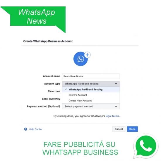WhatsApp Business sta arrivando