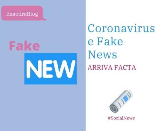 Arriva Facta per contrastare tutte le fake news sul Covid 19