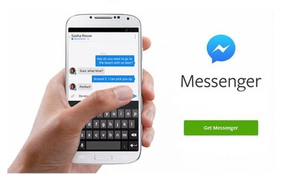Messenger la chat direttamente su sito web