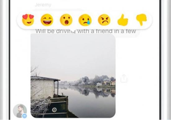 Reazioni menzioni messenger